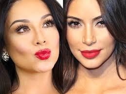 kim kardashian inspired makeup o 2016