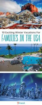 winter vacations for families in the usa