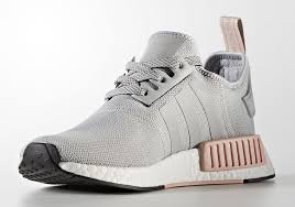 adidas shoes nmd pink. women\u0027s adidas originals nmd r1 running shoes clear onix/light pink by3058 nmd