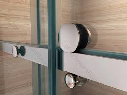 new ideas frameless sliding tub shower doors with features of priscus frameless glass shower