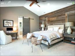 wood panel accent wall bedroom paneling