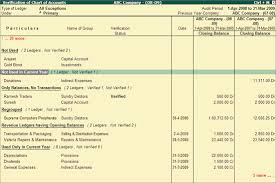 Chart Of Accounts Explained Verification Of Chart Of Accounts