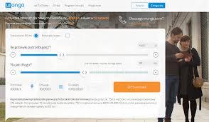 Wonga – Pożyczki przez Internet