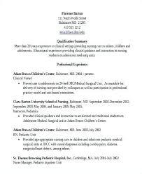 Medical Surgical Nurse Resume Objective Resumes Letsdeliver Co