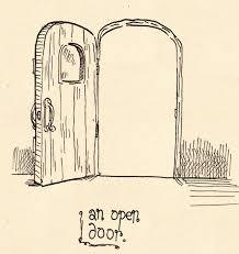 open door drawing perspective. Day 1: An Open Door By Papergori Drawing Perspective T