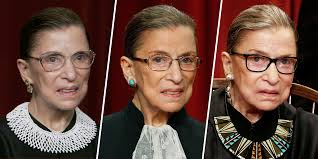 Revisiting Ruth Bader Ginsburg's iconic style and neck collars