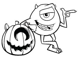 Halloween Disney Coloring Pages Printable Free Colouring