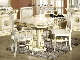 Italian Style Kitchen Table Modern Furniture Dining Table Design For
