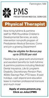 Jobs In Farmington Nm Physical Therapist Job In Farmington New Mexico Healthcare Jobs