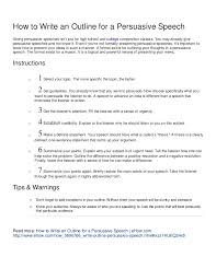 how to write an outline for a persuasive speech how to write an outline for a persuasive speech giving persuasive speeches isn t just