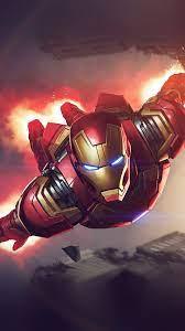 az71-ironman-hero-marvel-illustration ...