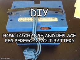 diy how to change replace peg perego 12 volt battery peg diy how to change replace peg perego 12 volt battery peg perego replacement battery