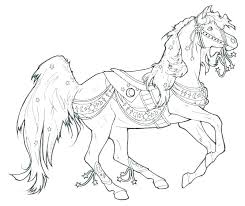 Cute Horse Coloring Pages Horse Pictures To Print And Color 15 Fresh