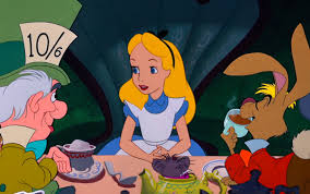 Image result for alice in wonderland animated movie tea party