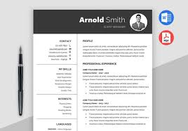 Free Modern Downloadable Resume Templates Forever Free Resume Templates Downloadable Maxresumes