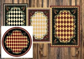 french country cottage area rugs high rooster rug collection southern creek rustic