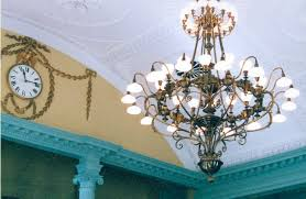 lighting fixture restoration for state house