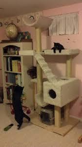 image of easy diy cat tree classic