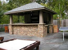 Outdoor Kitchen Roof Brainstorming The Outdoor Kitchen Roof Ideas For A Unique