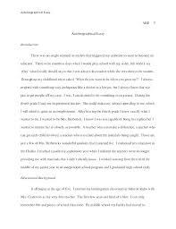 5 Paragraph Essay Template 4th Grade Five Paragraph Essay Example Autobiographical 5 Paragraph Essay
