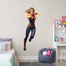 Captain Marvel Life Size Officially Licensed Marvel Removable Wall Decal