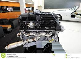 BMW 5 Series bmw aircraft engines : V12 Engine Of Rolls Royce Phantom Drophead Coupe On Display In BMW ...