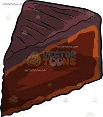 chocolate cake slice clip art. Slice Of Decadent Chocolate Cake Cartoon Clipart And Clip Art
