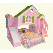 Bunk Bed Stairs Plans Tanglewood Design Dollhouse Bed Plans With Optional Slide And