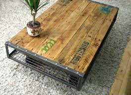 making a coffee table pallet coffee table tables out pallets furniture made diy coffee table hairpin