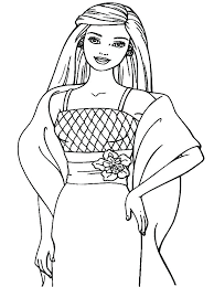 Barbie Doll Coloring Pages Barbie Doll Coloring Pages Doll Coloring