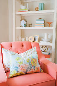 Best 25+ Coral chair ideas on Pinterest | Pink accent chair ...
