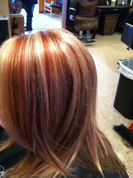 Red And Blonde Highlight For Next