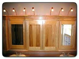 over vanity lighting. Vanity Lighting Over Medicine Cabinet Cabinets With Lights Bathroom Above Fantastic .