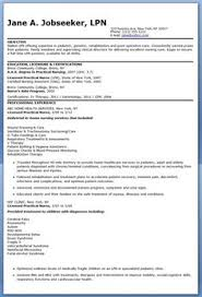 sample lpn resume is one of the best idea for you to make a good resume 18 sample lpn resumes