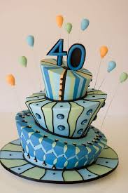40th Birthday Cakes For Men Healthy Food Galerry