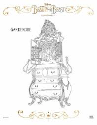 15 Unique Beauty And The Beast Coloring Pages 2017 Karen Coloring Page