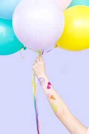 временные татуировки с блестками идеальное решение для детской