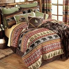 lodge bedding sets thebutchercover regarding lodge bedding set