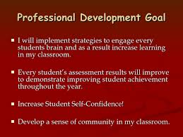 What Are Professional Goals My Professional Goals 2005 06