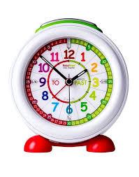 easyread time teacher alarm desk clock colourful completely silent free light up learning australia