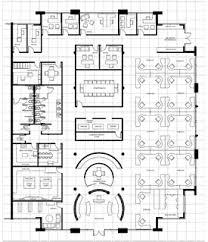 office space floor plan. High-Rise Office Building Space Floor Plan