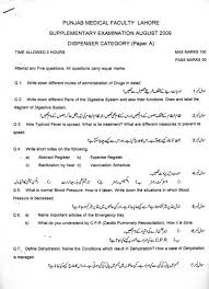 Papers Paper Punjab Medical Faculty Dispenser Old Papers Jhang Tv Old