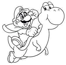 Coloring Pages Mario Kart Coloring Pages Free Page Characters
