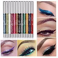 12 colors professional make up eye shadow lip liner eyebrow glitter eyeshadow eyeliner pencil pen cosmetic makeup set kit tools