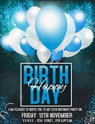 Birthday Flyers Birthday Flyers Party Flyers Event Flyers Template