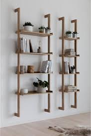 Regal Holz In 2019 Wandregal Wohnzimmer Skandinavische