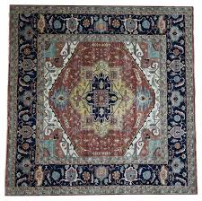 10 x 10 heriz square wool rug mediterranean area rugs by rug and more