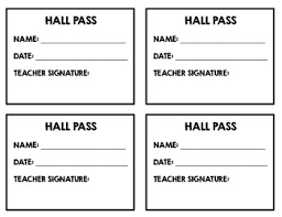 Hall Passes For School Back To School Funny Meme Hall Bathroom Passes Set 2 By Erika Forth