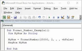 Vbscript Msgbox Chart Numbers Vba Format Number How To Format Numbers With Vba Numberformat