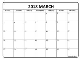 blank 2018 calendar march 2018 calendar march 2018 calendar printable